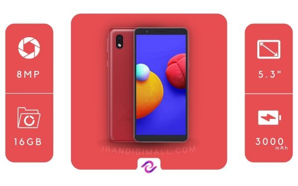 قیمت و خرید گوشی SAMSUNG GALAXY A01 CORE - 16/1 GB + گارانتی